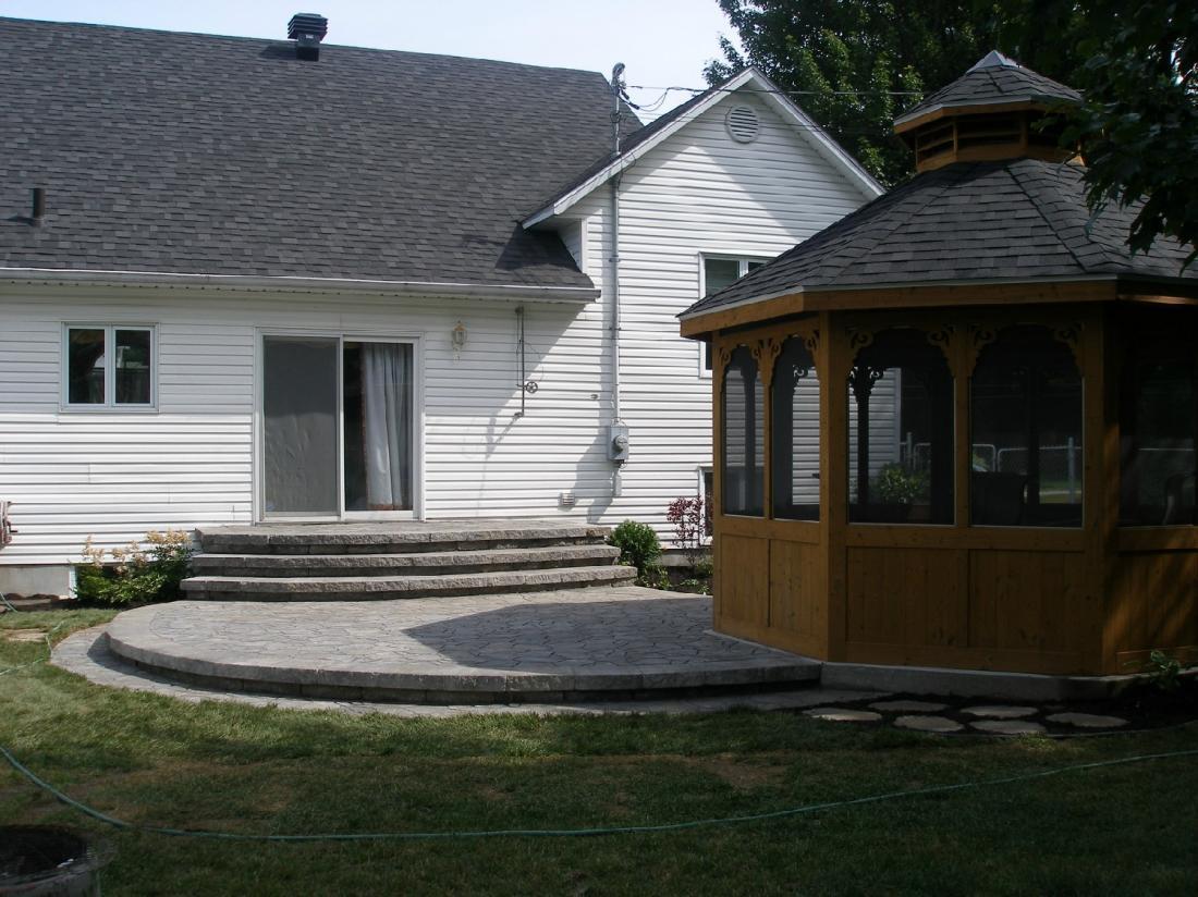 pav s et am nagements paysagers trois rivi res architecte paysagiste. Black Bedroom Furniture Sets. Home Design Ideas